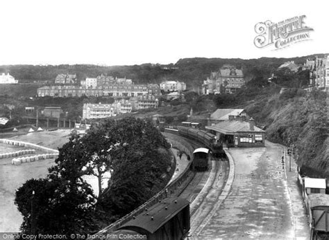 photo  st ives railway station  francis frith