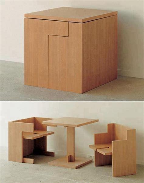table et chaise gain de place table gain de place 55 idées pliantes rabattables ou gigogne