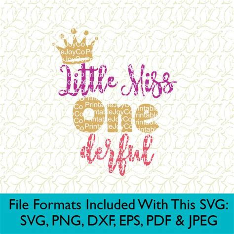 It's been a great week here in ky! First Birthday SVG Birthday Girl SVG Little Miss Onederful Svg