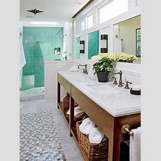 Coastal Bathroom  Open Storage   Tuvalu Home