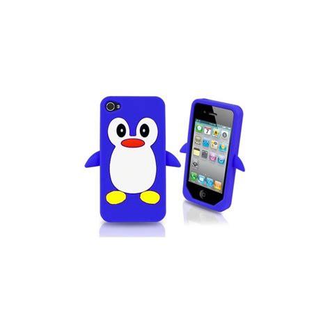 housse silicone pingouin bleu fonc 233 iphone 4 4s expert en pi 232 ces d 233 tach 233 es et accessoires pour