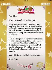 santa claus letters north pole letter template With santa claus house letters