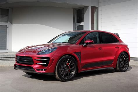 Porsche Macan Modification by Porsche Macan Topcar Cars Suv Modified Wallpaper