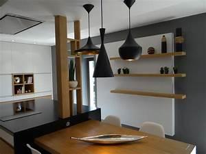 Suspension Pour Cuisine Moderne : luminaire cuisine moderne design en image ~ Teatrodelosmanantiales.com Idées de Décoration