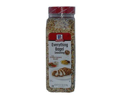 mccormick  bagel seasoning oz  usd
