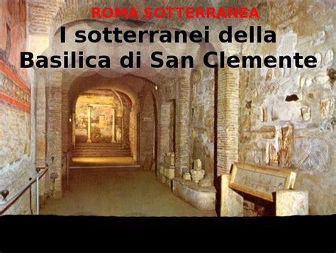Sedi Ama Roma I Sotterranei Della Basilica Di San Clemente In Citt 224