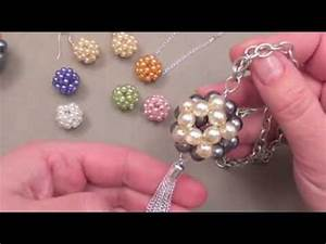 Comment Faire Un Bracelet En Perle : fabriquer des bijoux boules en perles youtube ~ Melissatoandfro.com Idées de Décoration