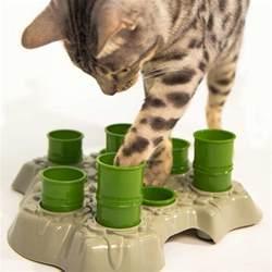 cat feeder aikiou stimulo interactive cat feeder kohepets singapore