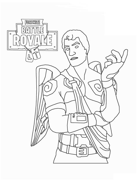 printable fortnite coloring pages coloring junction