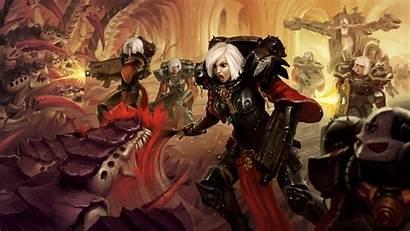 Warhammer 40k Sororitas Adeptus 4k Wallpapers Adepta