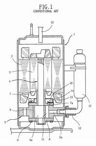 Patent Us6241496 - Hermetic Rotary Compressor