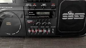 Daewoo Acd220 Stereo Cassette Radio Cd Player