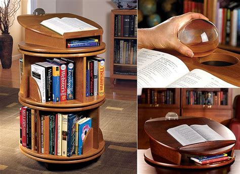 How To Build A Revolving Bookcase by For The Study Carousel Revolving Bookcase Revolving