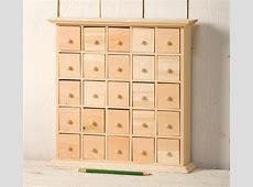 Wooden Advent Calendar With Drawers Plans Calendar