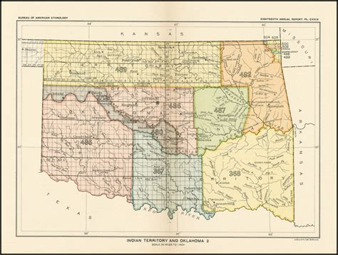 united states department of the interior bureau of indian affairs indian territory and oklahoma barry