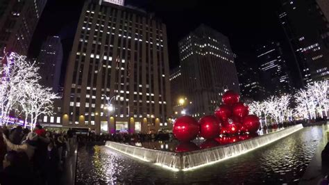 when does christmas start in new york 4k in new york city nyc 2015