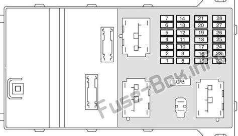 2010 Mercury Milan Fuse Box Diagram by Fuse Box Diagram Gt Mercury Milan 2006 2011
