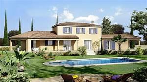 villas trident des maisons a larchitecture provencale With couleur facade maison provencale 0 maison provencale moderne