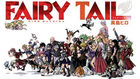 fairy tail characters hd wallpaper background image