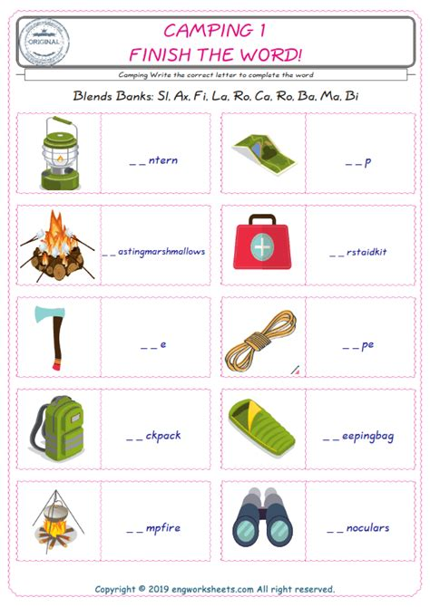 english worksheet  kids esl printable picture