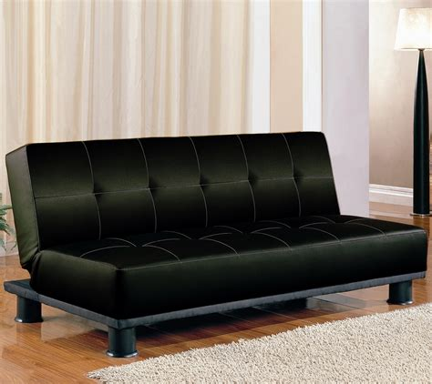 sofa beds contemporary armless convertible sofa bed  coaster