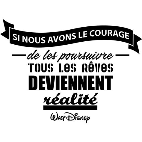 carrelage mural cuisine design sticker citation si nous avons le courage walt