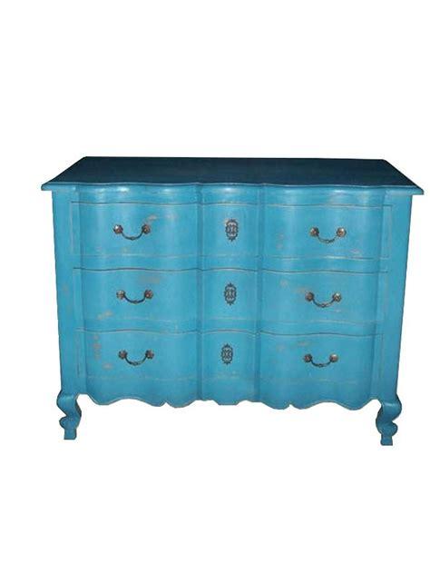 Commode Turquoise by Commode Arbalte Baroque En Acajou Bleu Estillac Meuble De