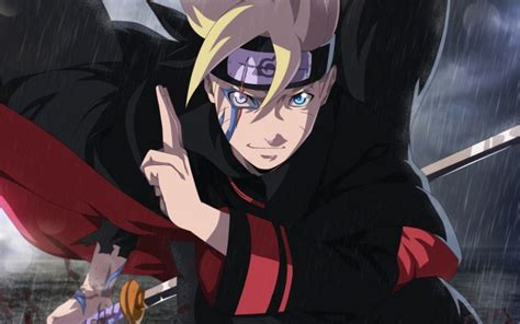 Desktop Wallpaper Boruto Uzumaki, Anime Boy, Fight, Hd