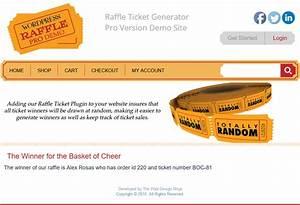 Raffle Drawing Generator Raffle Pick A Winner 7 Wordpress Raffle Ticket Generator