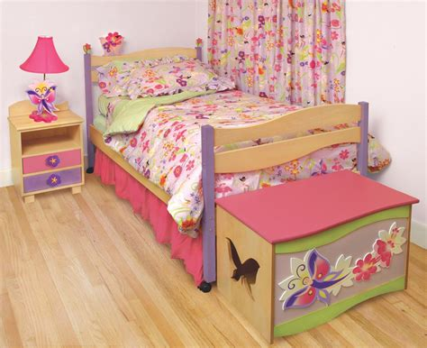 Fairy Bedding Colorful Kids Rooms