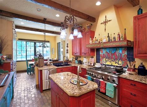southwest kitchen colors paramount granite 187 5 bright colorful kitchens 2410