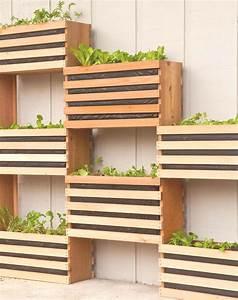 Caisse De Jardin : id e pour un jardin vertical ~ Teatrodelosmanantiales.com Idées de Décoration