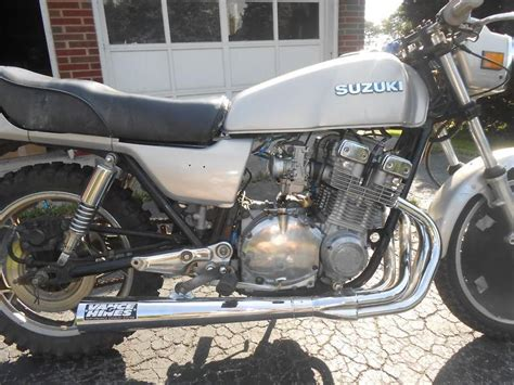 Suzuki Gs750 Parts by 80 Suzuki Gs 750 Drag Bike For Parts Repair For Sale On