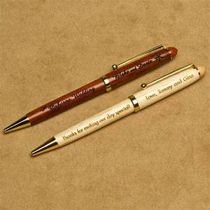 wood pens personalized wedding gifts personalized wedding With personalized pens for wedding favors