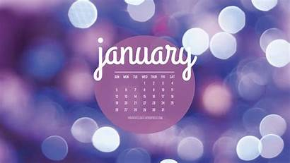 January Desktop Calendar Backgrounds Background Wallpapers Pc