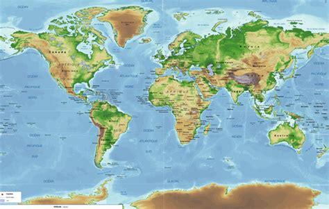 Carte Du Monde 3d by La Carte Du Monde Entier Gratuit