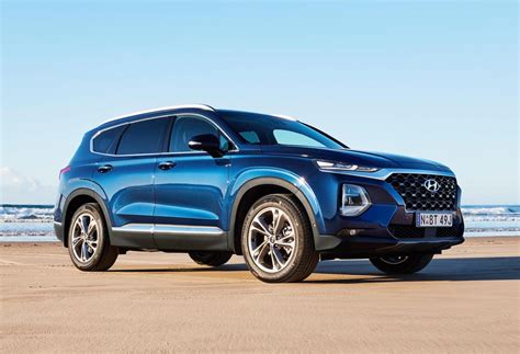2019 hyundai santa fe now sale in australia performancedrive