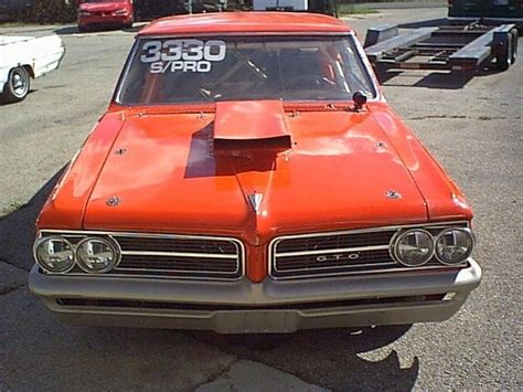 1964 Gto Specifications by Pontiac Gto 2 Door Hardtop 1964 Orange For Sale 1964