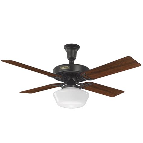 prestige ceiling fan shop prestige by hotel original 52 in satin black