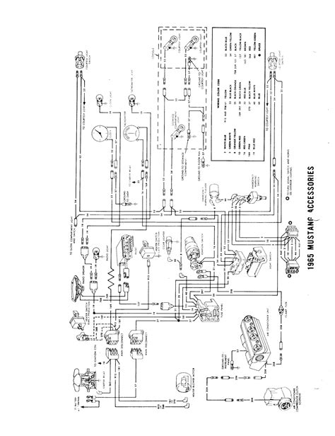 1964 Ford Mustang Wiring Diagram by 1964 189 1965 Wiring Diagram Manual Ford Mustang Forum