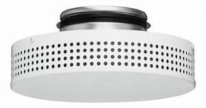 Bouche D Aération Vmc : eco 3 helios bouche plafonni re de soufflage chauffante ~ Premium-room.com Idées de Décoration