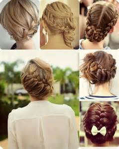 Easy Braided Updo Hairstyles Long Hair