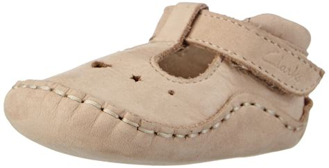 Clarks Unisex Babies' Toy First Walking Shoes Beige (cream