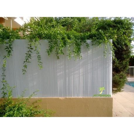 Canisse PVC pour balcon 15 x 3 ml Blanche