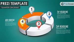 3d Donut Circle Infographic Diagram Prezi Presentation