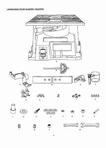Craftsman 137217100 User Manual Shaper  Router Manuals And