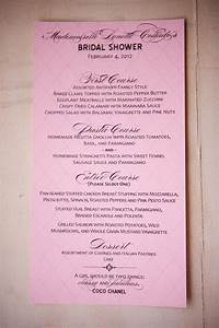 coco chanel french inspired bridal shower bridal shower With wedding shower menu ideas