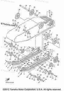 Yamaha Snowmobile 2000 Oem Parts Diagram For Track