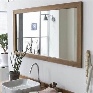 Milano mirror - Teak mirrors 140x70 sale at Tikamoon