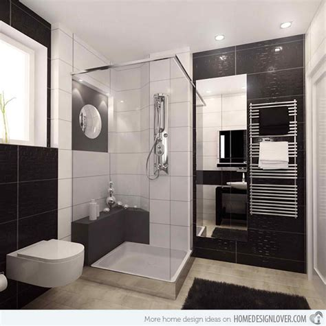 black white bathrooms ideas 20 sleek ideas for modern black and white bathrooms house decorators collection